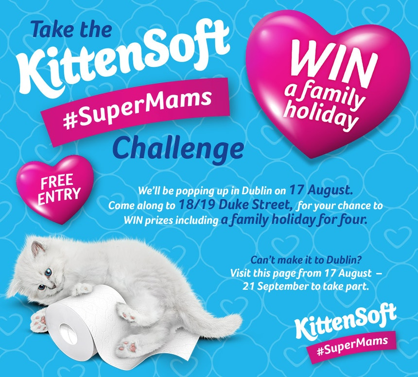 kitten soft super mams challenge