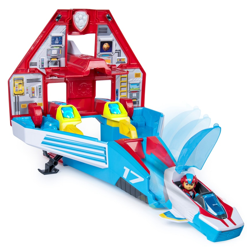 Paw Patrol Super PAW's Mighty Jet Command Centre