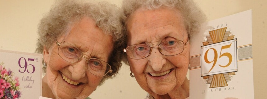 95-Year-Old Twins Believe This Is The Key To Living A Long Happy Life