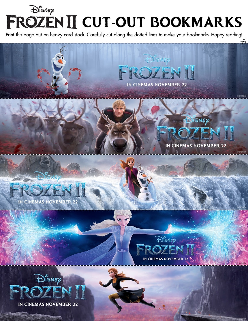 Fun Frozen 2 Downloadables For The Whole Family